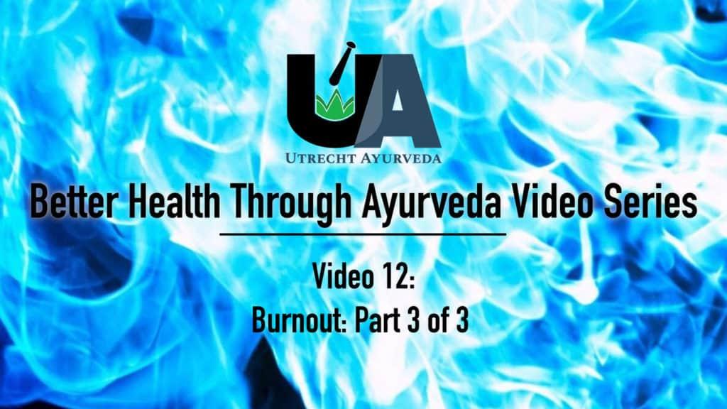 utrecht ayurveda, netherlands ayurveda, nederlands ayurveda, better health through ayurveda, burnout